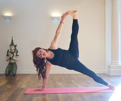 Ann Reck Graduate At Body Bliss Yoga In Leigh-on-Sea, Essex