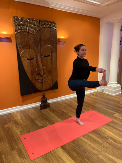 Rosanne Clays At Body Bliss Yoga In Leigh-on-Sea, Essex
